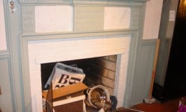 Frugal Fireplace Refinishing