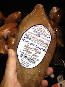This sweet potato came from a South Jersey farm