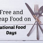 national food days free cheap