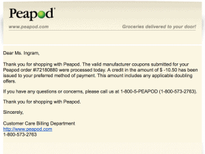 peapod grocery delivery service