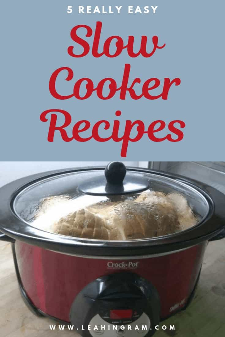 really easy slow cooker recipes