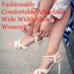 wide width womens shoes
