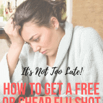 free cheap flu shot