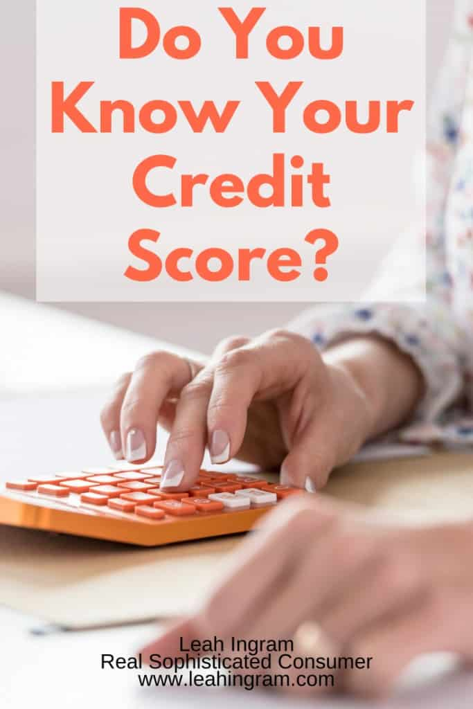 do you know your credit score pinterest