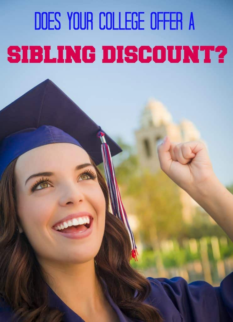 college sibling discount