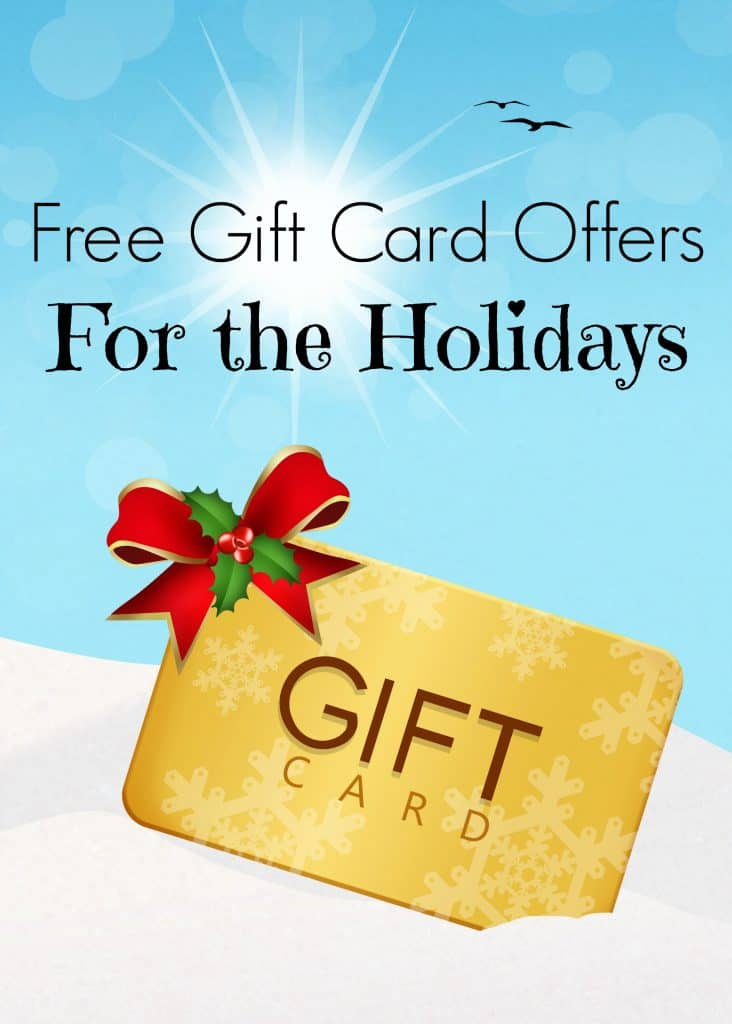 Free Gift Cards for the Holidays - Leah Ingram