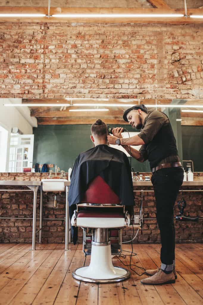 holiday tipping barber hair stylist