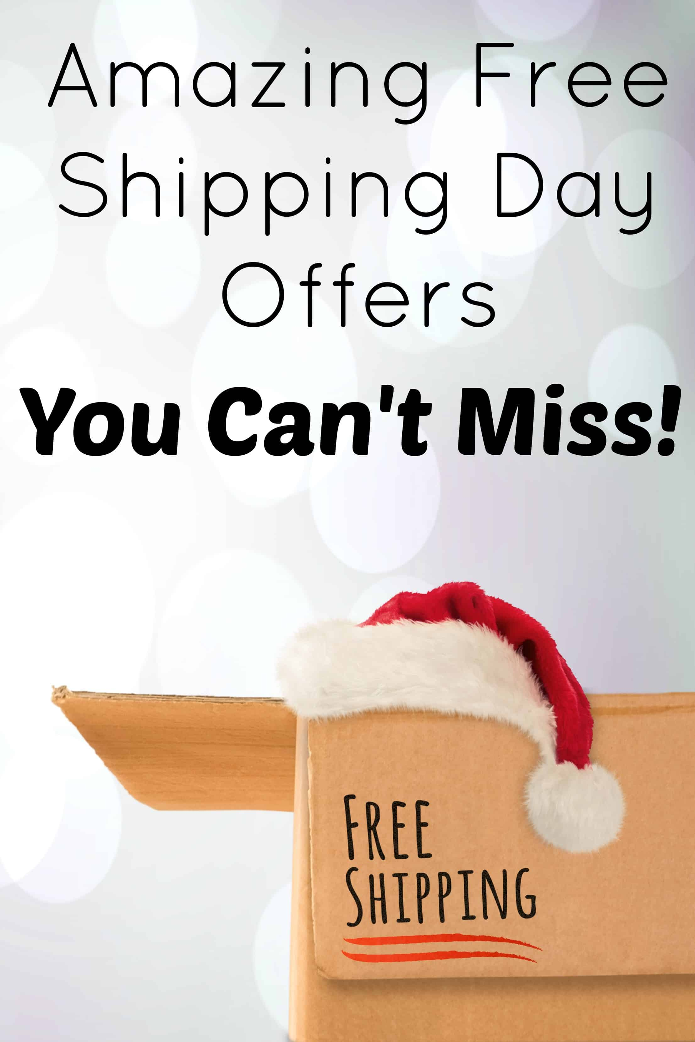 Free Shipping Day 2016 Offers