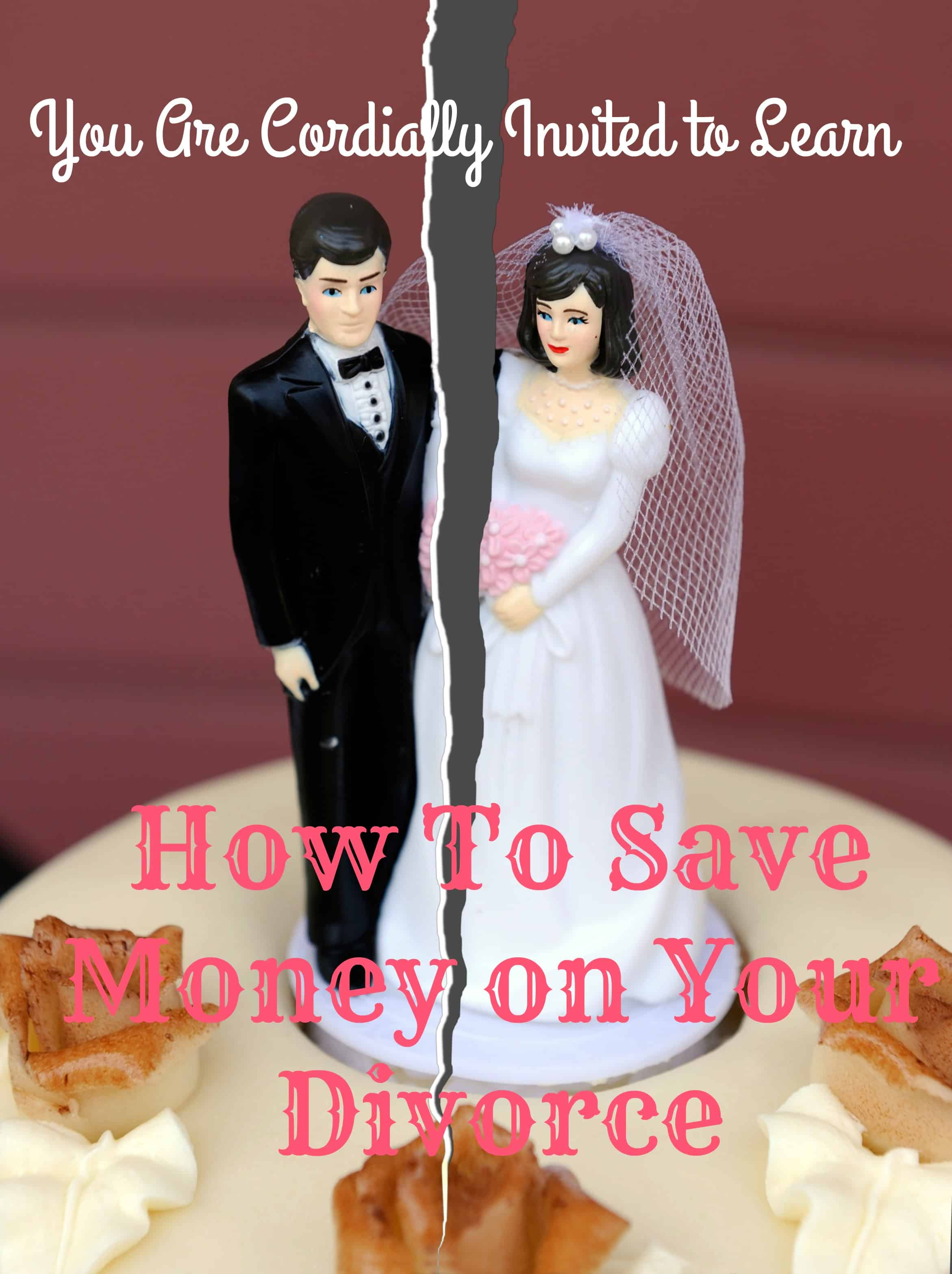 Save Money on Your Divorce