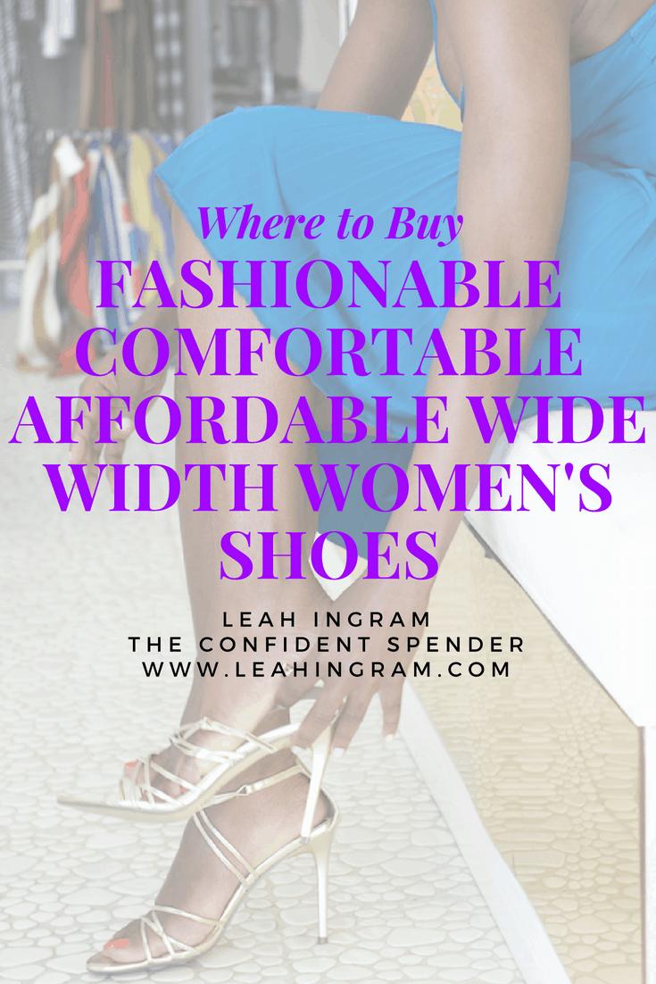 wide width women's shoes