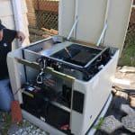 hurricane season installing a whole house standby generator