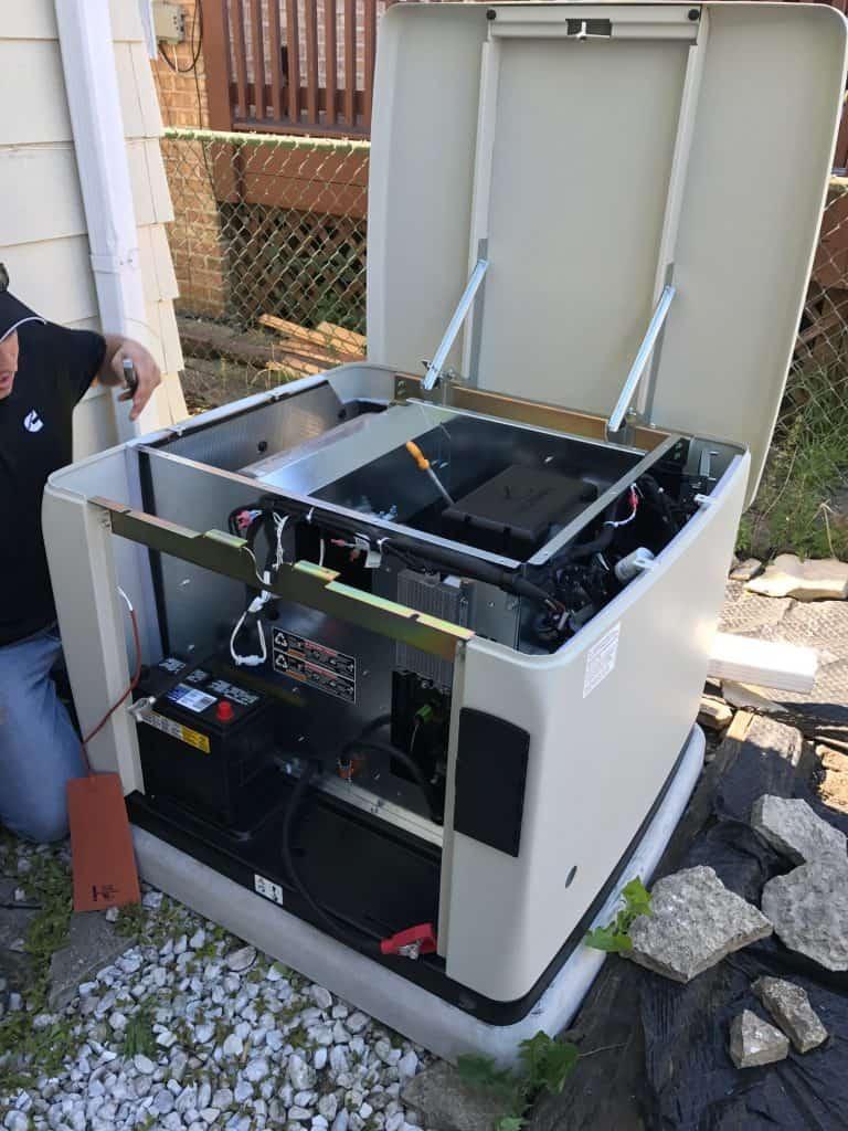 hurricane season installing a whole house standby generator