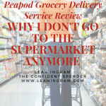 peapod grocery delivery review