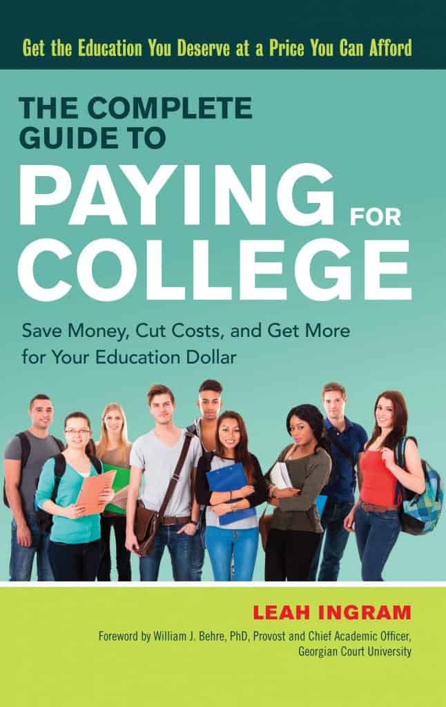 paying for college book cover
