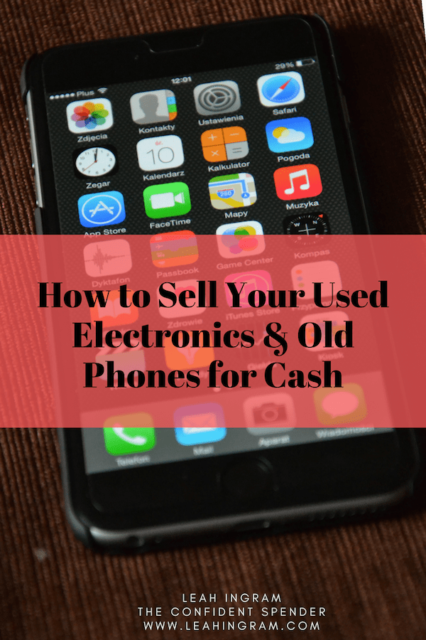 sell used electronics for cash