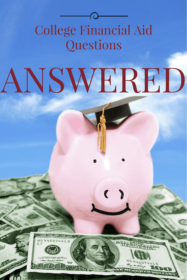 college financial aid questions answered