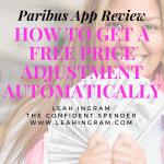 Paribus Purchase Price Adjustment App Review