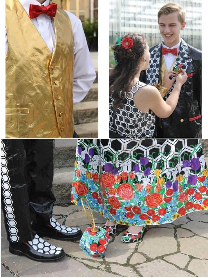 duck tape college scholarship contest prom