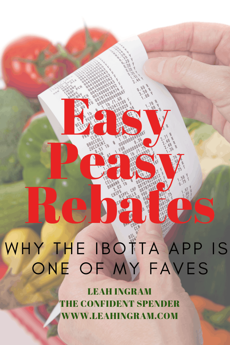 Shopping and Grocery Rebates My Ibotta App Review - Leah Ingram