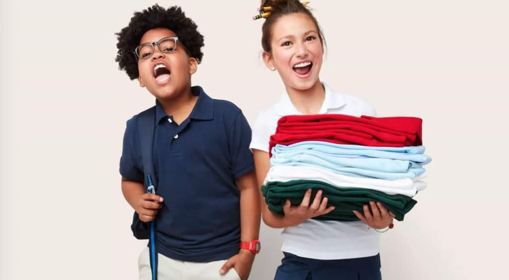 target school uniforms save money