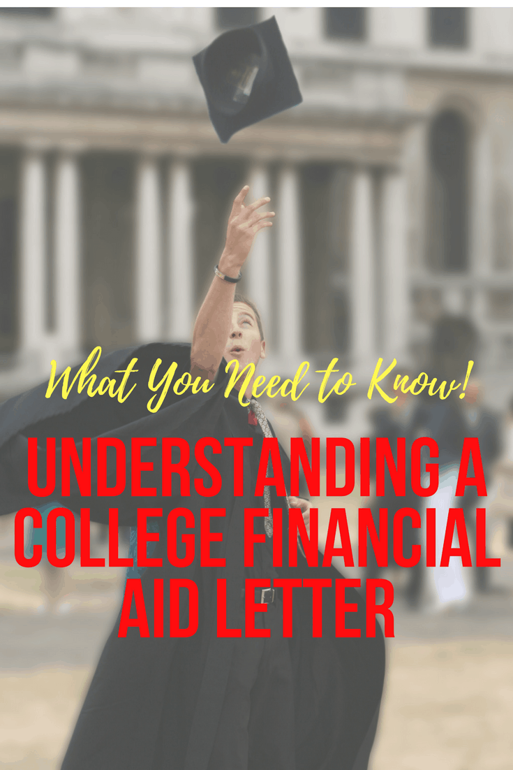 understand college financial aid letter