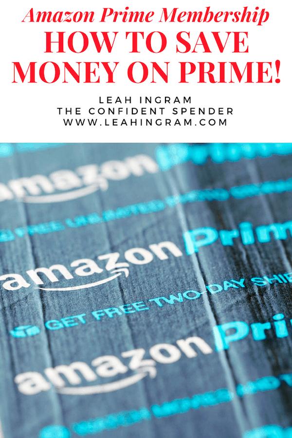 save money amazon prime membership