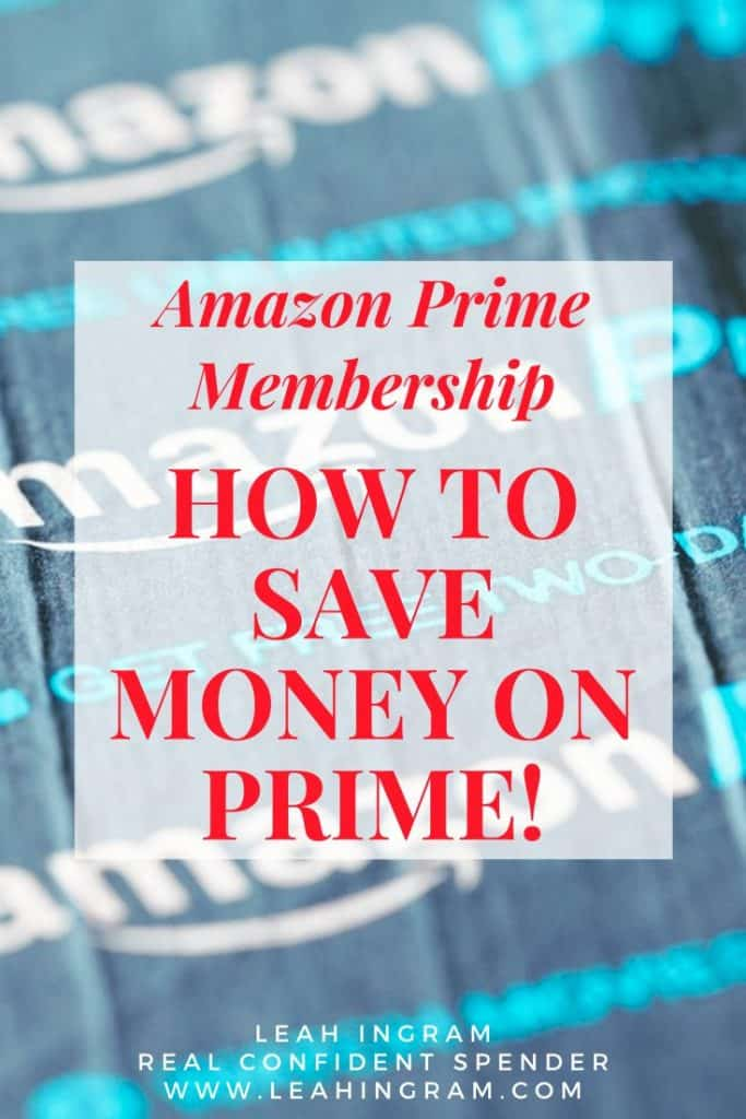 save money amazon prime membership