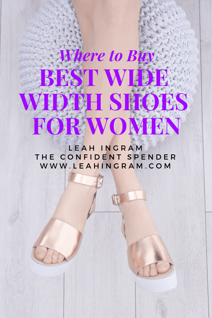 8e36decfc33 Best Wide Width Shoes for Women - Leah Ingram