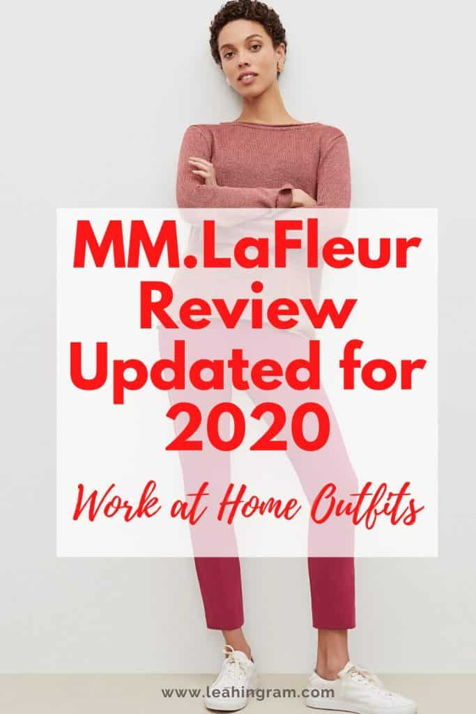 mmlafleur work at home outfits