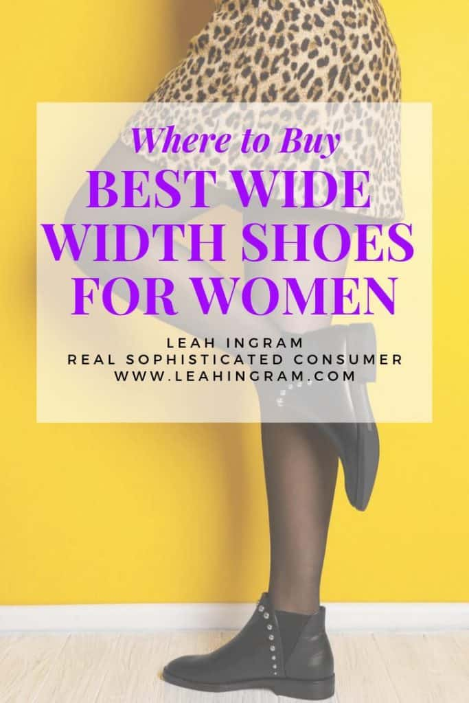 best wide width shoes for women