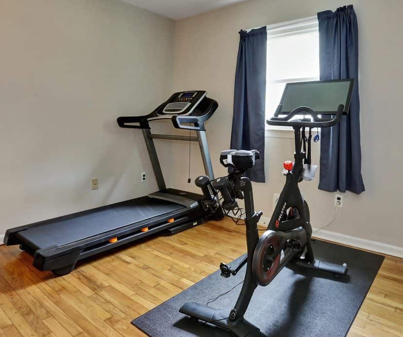 peloton exercise room accessories must haves