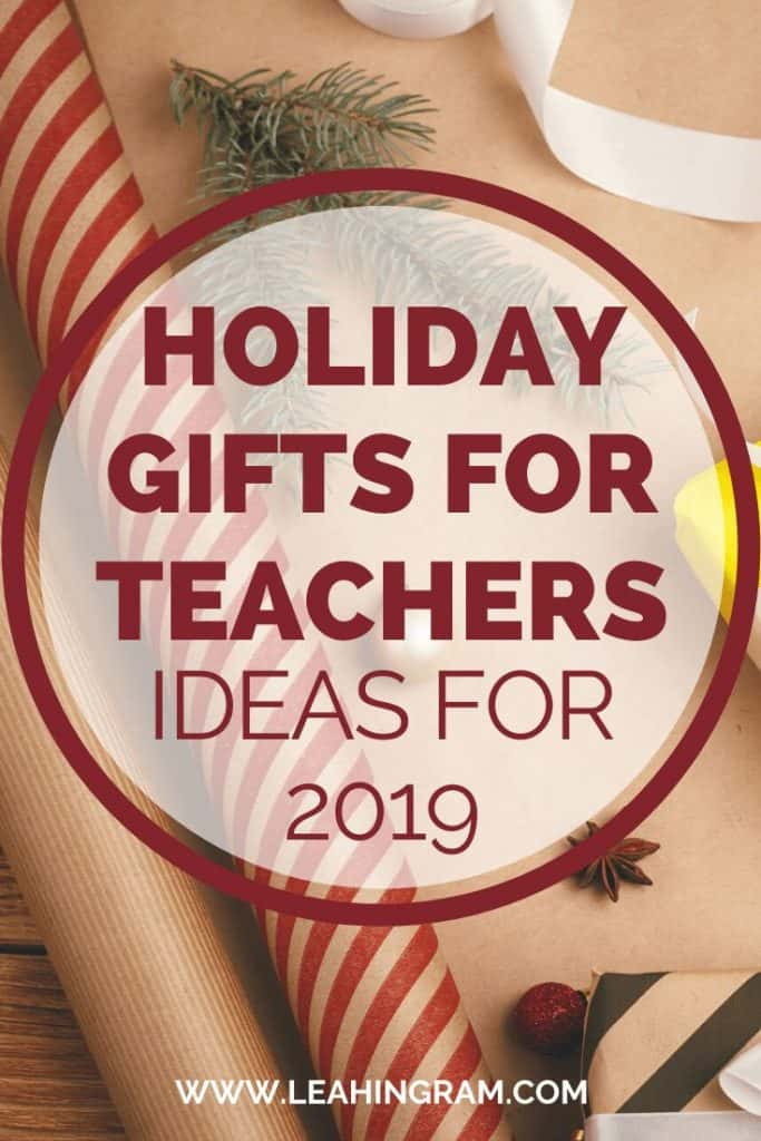 clever teacher gifts holidays