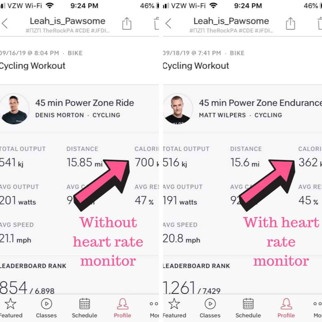 peloton heart rate monitor