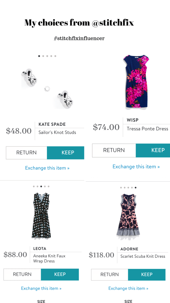 stitch fix choices