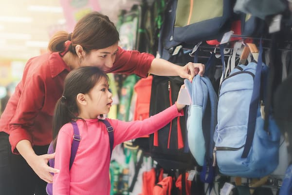 tax free weekend sales holiday back to school shopping