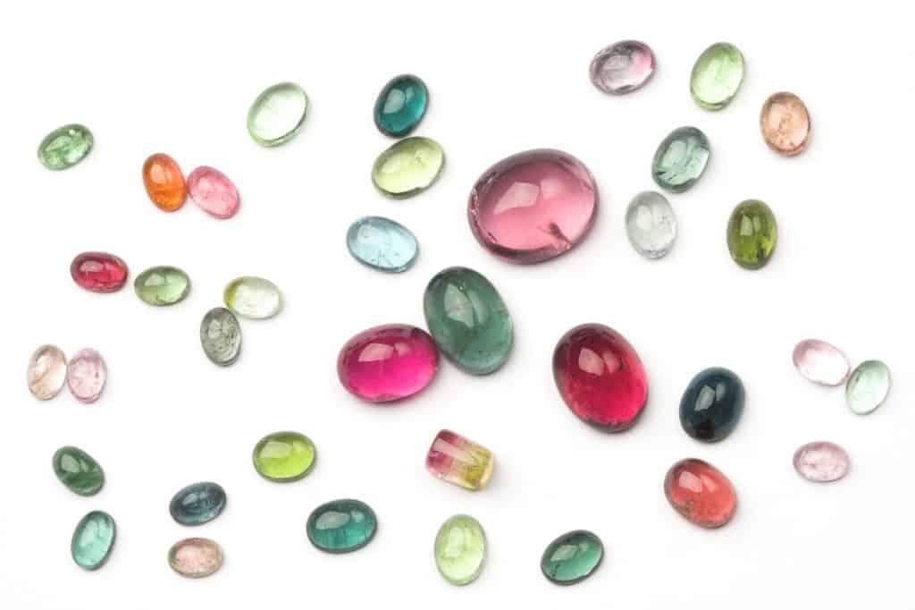 Tourmalines 8th anniversary color gemstone
