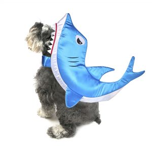 awesome Halloween Shark Dog Costume