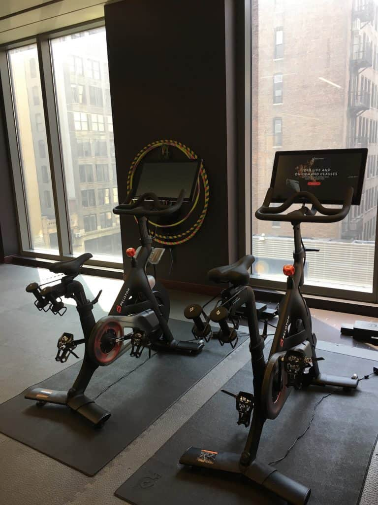 peloton hotel new york city