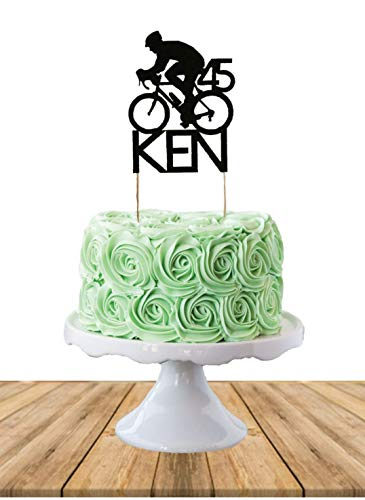 Cycling Cake Topper