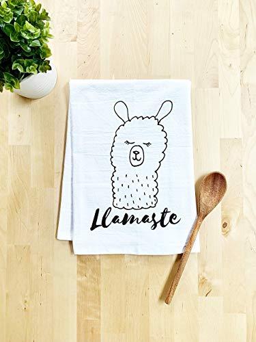 Funny Dish Towel, Llamaste,