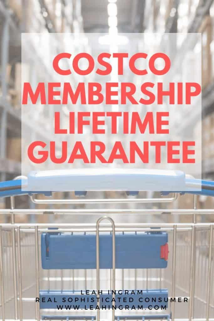 costco membership lifetime guarantee
