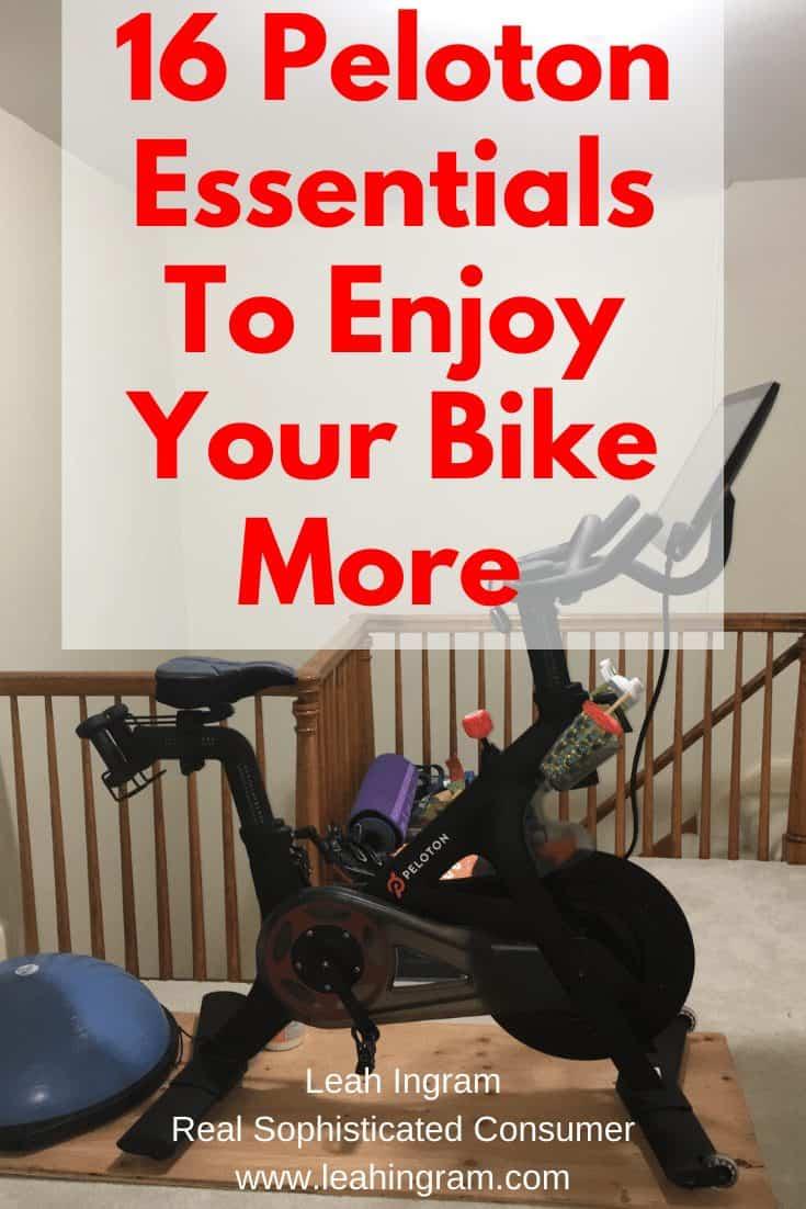 best accessories for Peloton bike