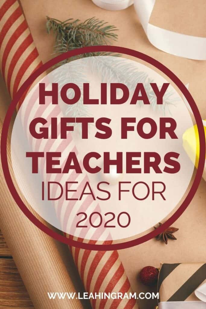 clever teacher gifts for the holidays