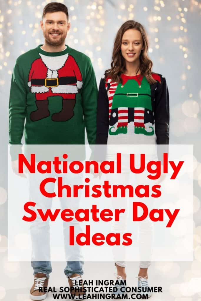 national ugly chirstmas sweater day ideas