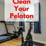how to clean your peloton