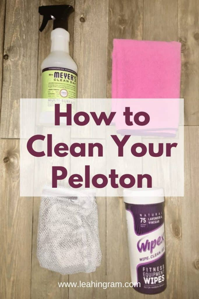 products for how to clean your peloton