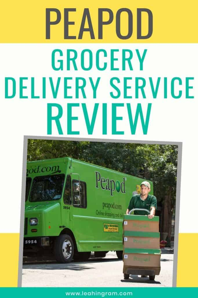 is peapod worth it delivery truck
