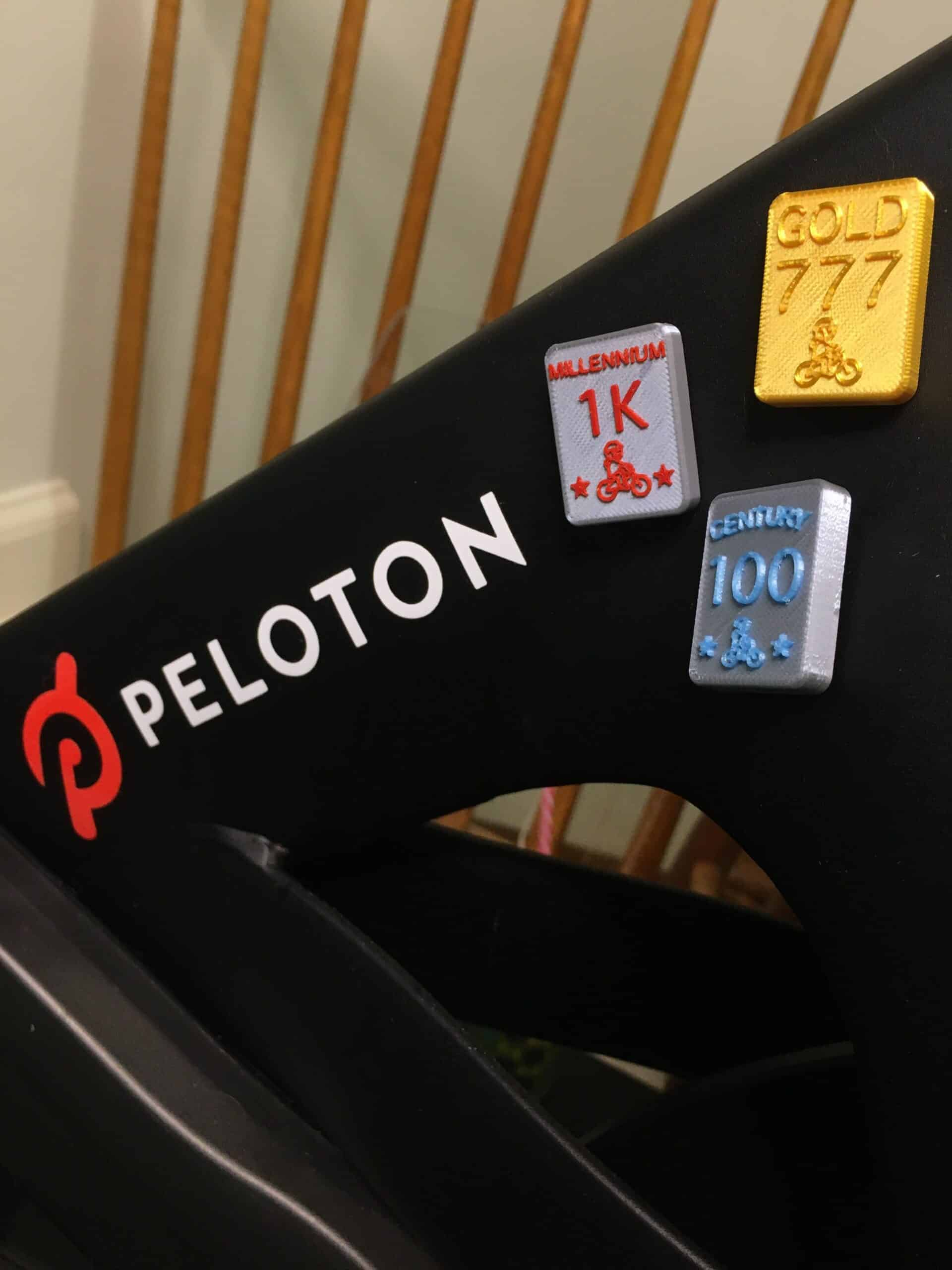 peloton milestone badges