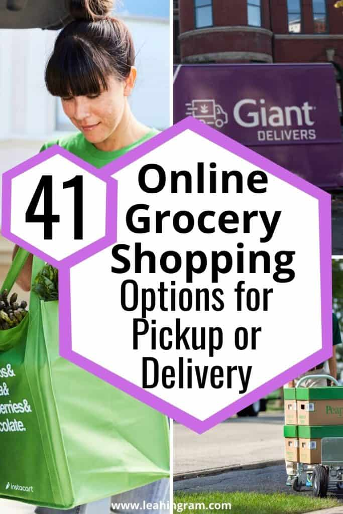 41 online grocery shopping options