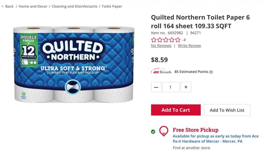 buy toilet paper ace hardware